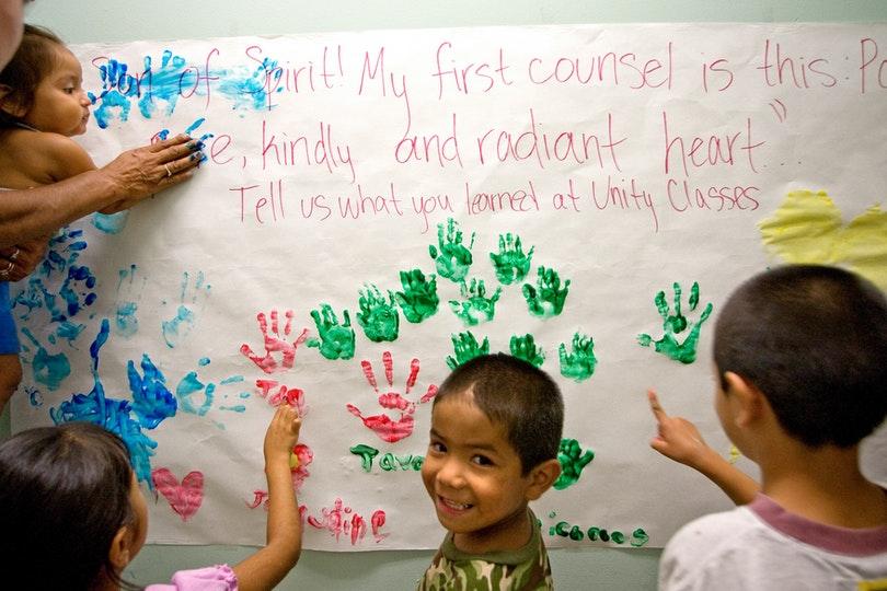 A children's class in Austin, United States