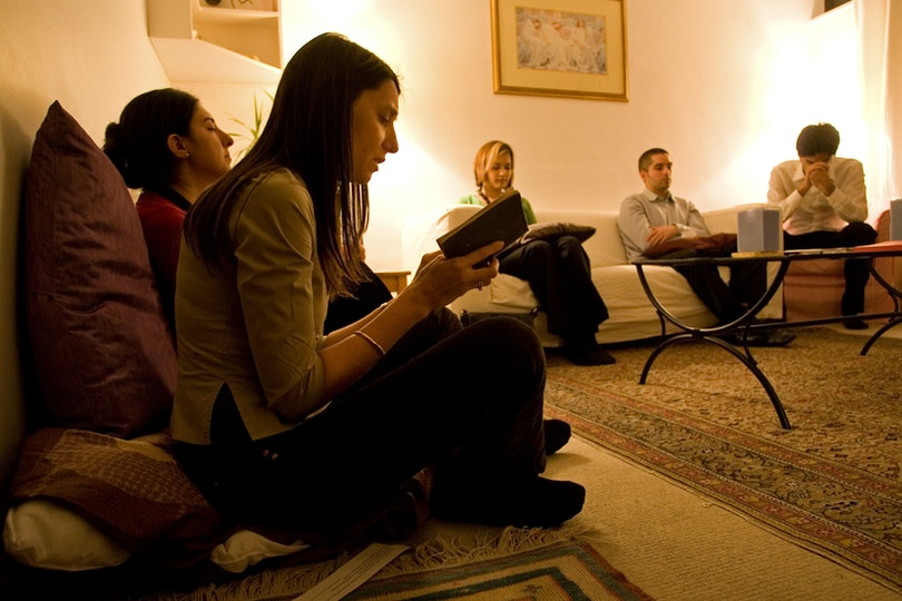 A devotional gathering in London, United Kingdom